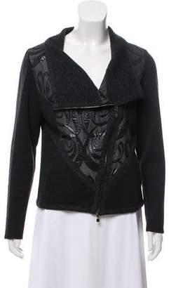 D-Exterior D. Exterior Wool Asymmetrical Jacket