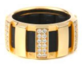 Chaumet 18K Yellow Gold and Diamond Ring