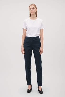 Cos TWILL SLIM-FIT TROUSERS