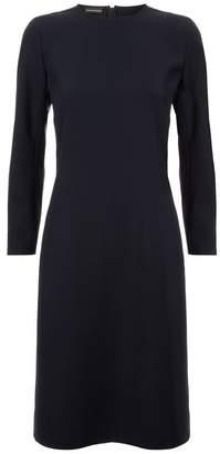 Emporio Armani Split Cuff Mini Dress