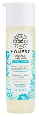The Honest Company Shampoo & Body Wash, Fragrance Free - 10oz