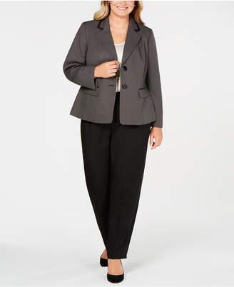 Le Suit Plus Size Unmatched Pantsuit