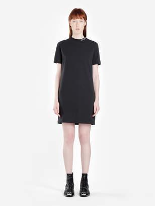aa7cd38d614f Calvin Klein JEANS WOMEN S BLACK SKATER TEE DRESS