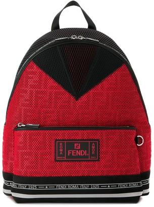 Fendi Roma perforated backpack