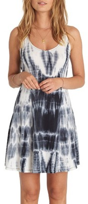 Women's Billabong Last Chance Tie Dye Skater Dress $39.95 thestylecure.com