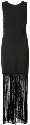 Prabal Gurung sheath fringed dress
