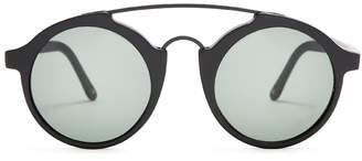 L.G.R SUNGLASSSES Calabar round-frame acetate sunglasses