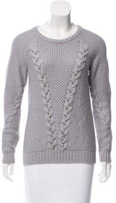 Ramy Brook Embellished Wool Sweater