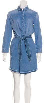 AllSaints Sanko Denim Dress