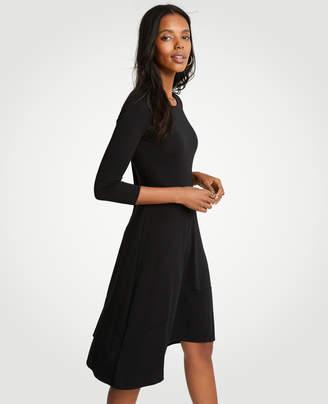 Ann Taylor Petite Circle Cut Flare Dress