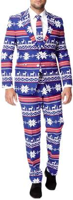 Opposuits The Rudolph 3-Piece Jacket, Trousers and Tie Set
