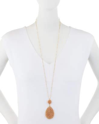 Panacea Crystal Teardrop Pendant Necklace