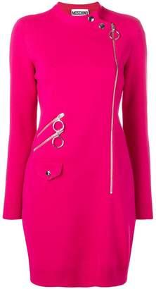 Moschino side zipped dress