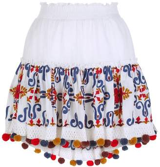 Pippa Misa Los Angeles Embroidered Skirt