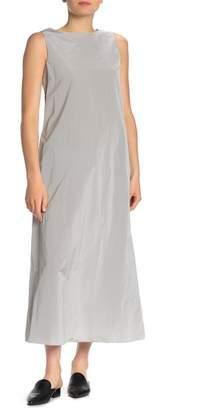 Theory A-Line Sleeveless Maxi Dress
