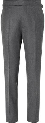 Kingsman Rocketman Navy Slim-Fit Wool-Twill Suit Trousers