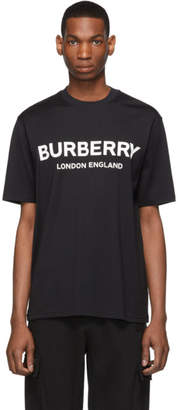 Burberry Black Letchford Logo T-Shirt
