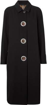 Burberry grommet detail car coat