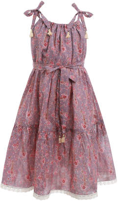 Zimmermann Juniper Paisley Tie Dress