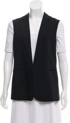 Theory Sleeveless Open Front Vest