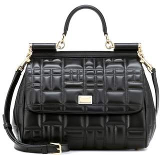 Dolce & Gabbana Sicily Medium quilted leather shoulder bag