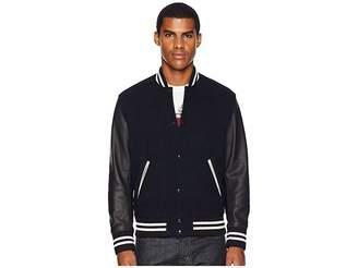 The Kooples Wool Varsity Jacket