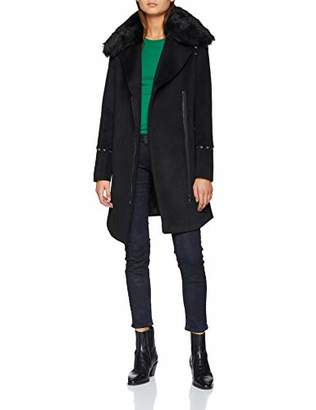 Morgan Women's 182-GFRAK.P Coat Noir 0, (Size: T)