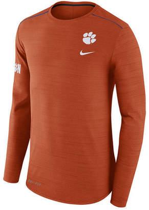 Nike Men's Clemson Tigers Dri-Fit Breathe Long Sleeve T-Shirt