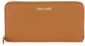 Roberto Cavalli Leather Rectangular Wallet