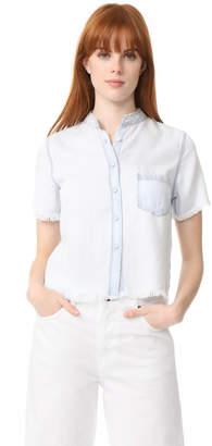 DL1961 Montauk Shirt $168 thestylecure.com