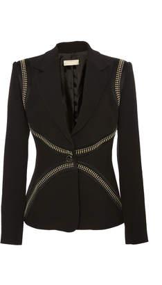 Elie Saab Tailored Studded Jacket