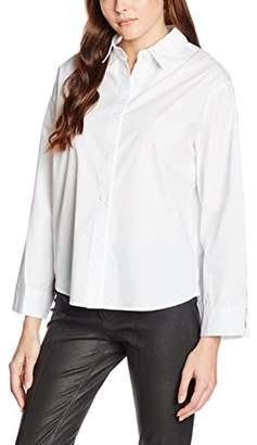 boohoo Women's Tie Detail Cuff Regular Fit Long Sleeve Shirt,8