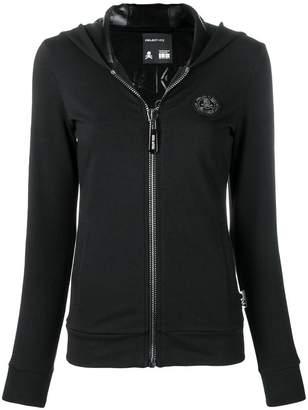 Philipp Plein sequin logo hoodie