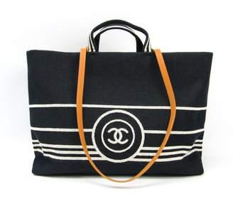 Chanel Denim CC Shopping Tote Bag (SHA-12175)