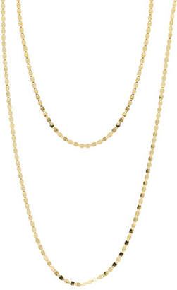 Lana Bond Nude 14K Two-Strand Necklace