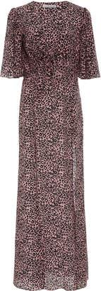 Les Rêveries Silk-Chiffon Maxi Dress
