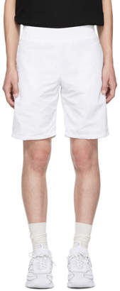 All In all in White Tennis Shorts