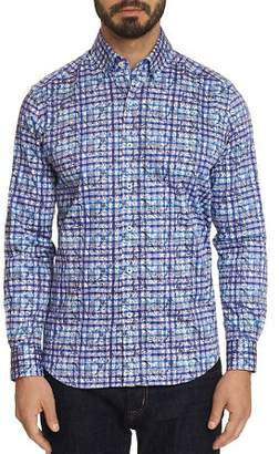 Robert Graham Gavras Floral Plaid Classic Fit Shirt