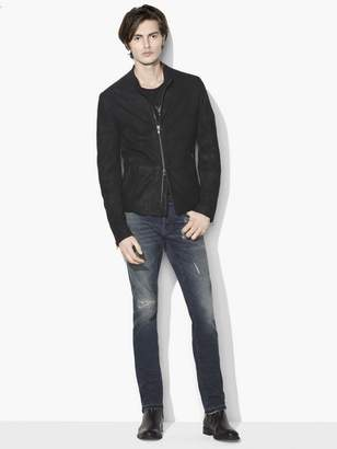 John Varvatos Café Racer Leather Jacket