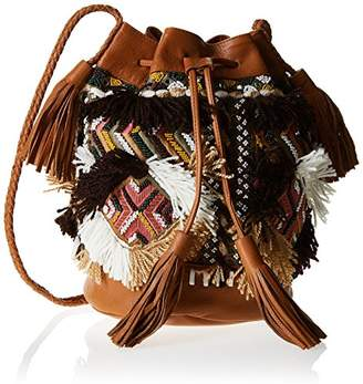 Antik Batik Womens Kilan1bag Shoulder Bag Brown Size: