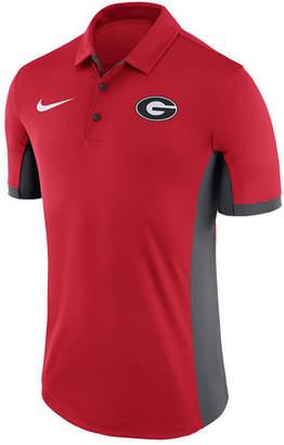 Nike Men Georgia Bulldogs Evergreen Polo