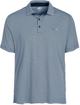 Greg Norman Attack Life by Men Regular-Fit Performance Stretch Feeder Stripe Polo