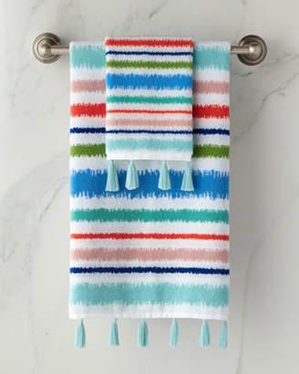 Dena Home Jacquard Hand Towel with Tassels
