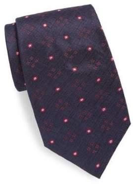 Brioni Detail Pattern Silk Tie
