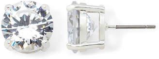 MONET JEWELRY Monet Crystal Silver-Tone Stud Earrings