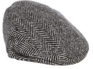 Burberry Herringbone Newboy Hat