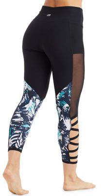 Marika Tek Kendall Invigorate Mesh-Side Capri Leggings
