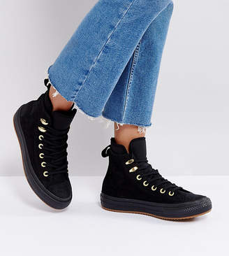 Converse Chuck Taylor Weatherproof Boot In Black