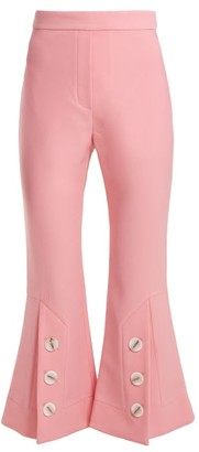 Ellery Fourth Element Flared Trousers - Womens - Pink