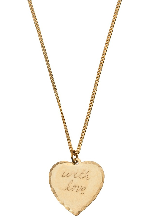 In God We Trust With love heart necklace